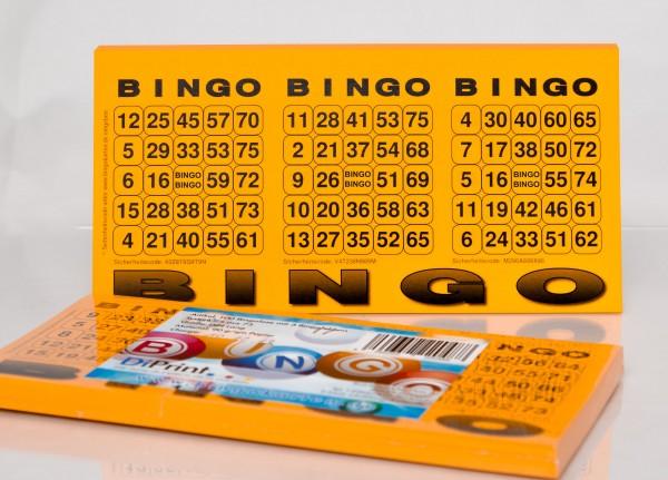Bingolose mit 3 Bingofeldern 75er System