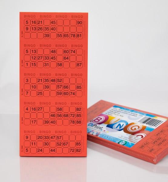 Bingotickets Sparpaket System 15 aus 90