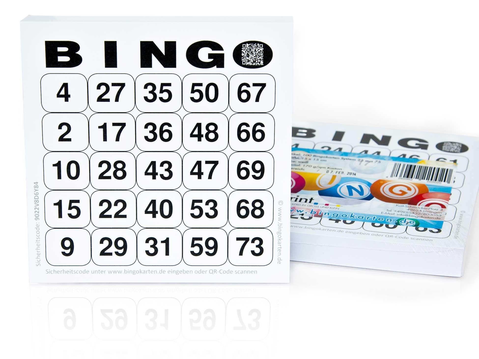 Bingo Für Senioren Zum Ausdrucken