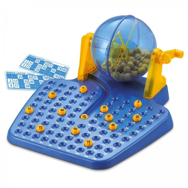 Bingo-Spiel / Bingo-Set mit 90 Kugeln