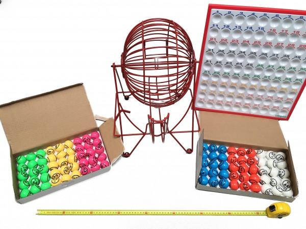 riesen bingotrommel xxl bingokarten von diprint. Black Bedroom Furniture Sets. Home Design Ideas