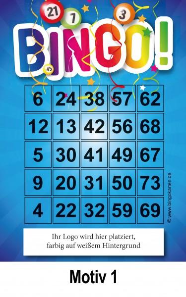 Bingokarten mit Ihrem Logo