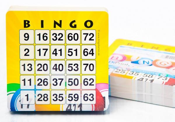 Bingokarten groß und stabil für Senioren und Kinder