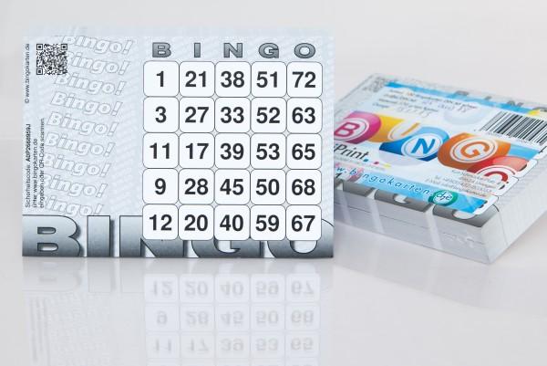 Bingokarten DIN A6 in leichter Ausführung