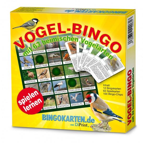 Vogelbingo Verpackung